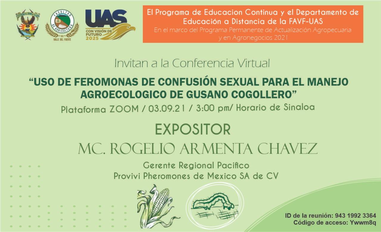 Conferencia Virtual - Septiembre 3